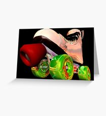 Wicked Skate Greeting Card