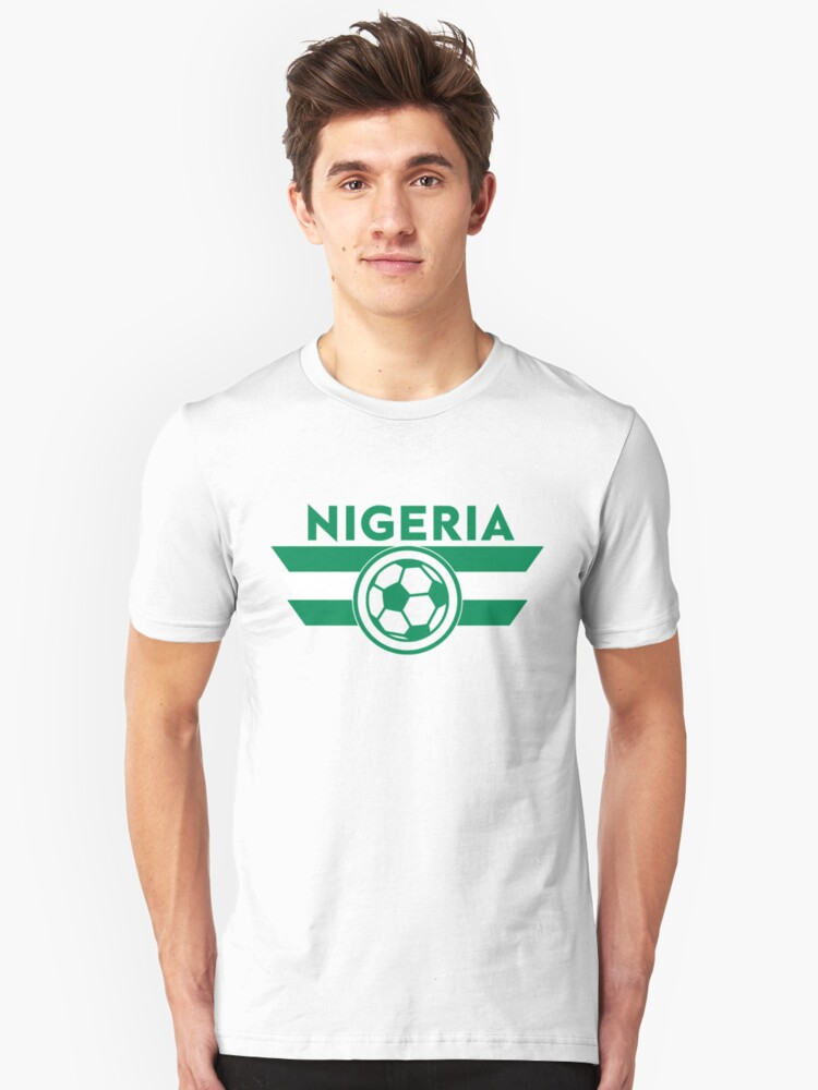 28b888bf26b Nigeria Soccer Jersey Shirt Nigerian Super Eagles World Cup Football Slim  Fit T-Shirt