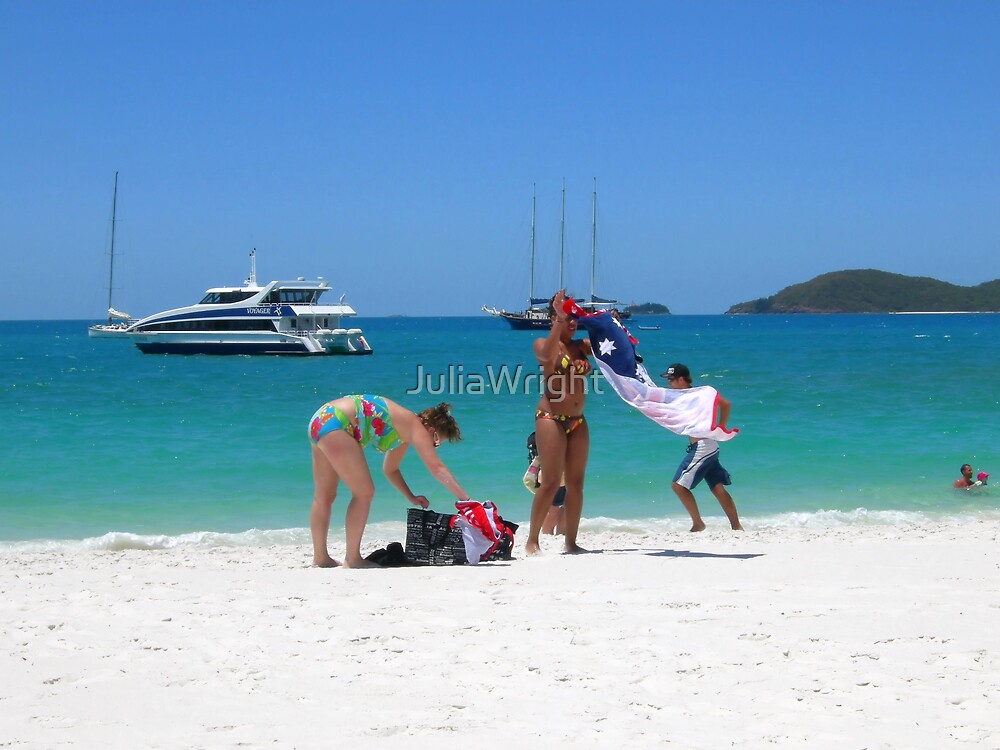 Whitehaven Beach by JuliaWright