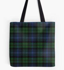 Black Watch Ancient  Original Scottish Tartan Tote Bag