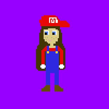 Maria - The Girl Version Of Mario by CasualBiscuits