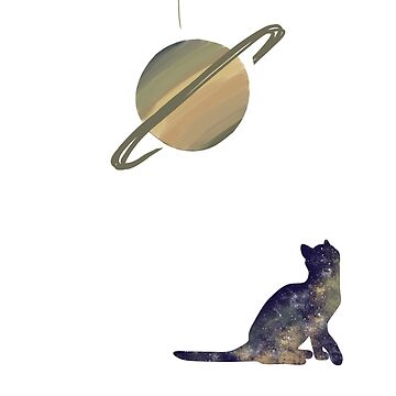 Saturn cat by 404pagenotfound
