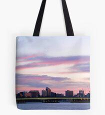 Perth City at Dawn Tote Bag