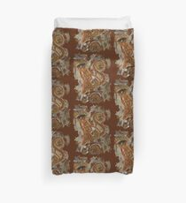 CRAZY STEAMPUNK CAT Duvet Cover
