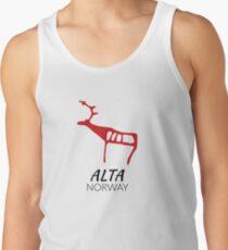 Alta, norway (rock carving) Tanktop für Männer