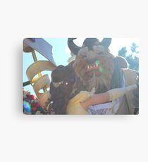 Beauty and Beast Sunflare Canvas Print