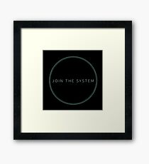 Black Mirror HBO - Hang The DJ 5 Framed Print