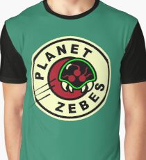 Planet Zebes Graphic T-Shirt