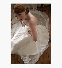porcelain bride Photographic Print
