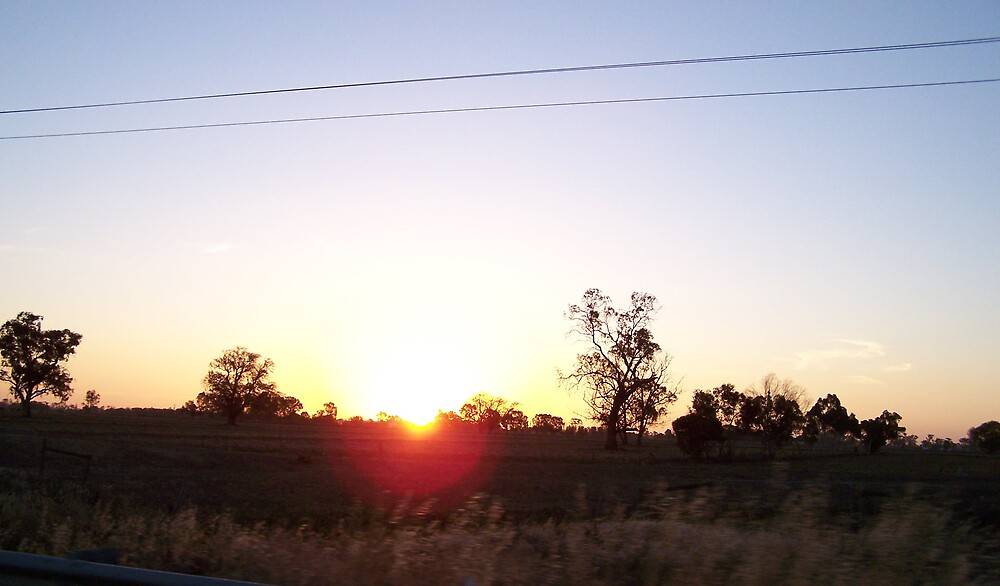 Sunset On The Road. by heyitsmefi