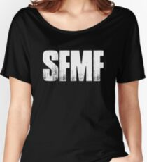 SFMF American Veteran US Military USA Women's Relaxed Fit T-Shirt