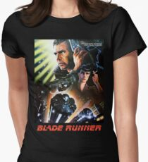 Blade Runner Movie Shirt! Womens Fitted T-Shirt