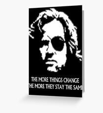 Plissken 2 Greeting Card