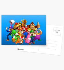 Super Mario Postkarten