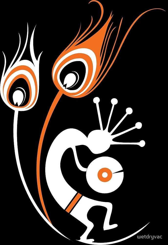 Wasted In Bombay - Orange Logo Orange Wordless by wetdryvac