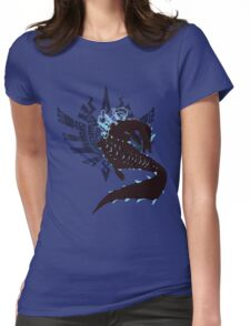 Abyssal Lagiacrus - Sunset Shores Womens Fitted T-Shirt