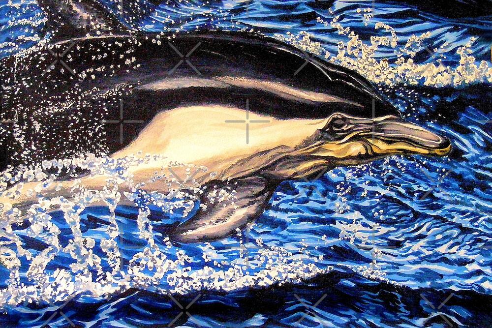 Dolphin blue by dnlddean