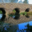 Stour Valley Way: Spetisbury Bridge by RedHillDigital