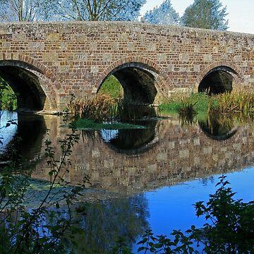 Stour Valley Way: Spetisbury Bridge by RedHillDigital