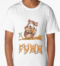 Fynn Owl Long T-Shirt
