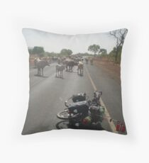 Gambia Throw Pillow