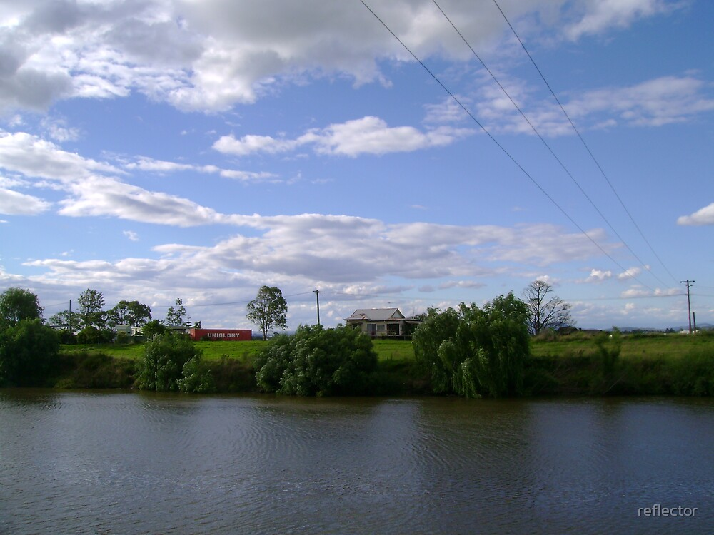 View Over The River by reflector