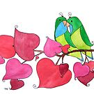 Love Birds by tiffjamaica