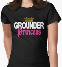 Grounder Princess Women's Fitted T-Shirt
