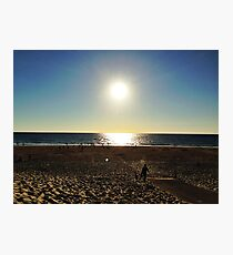 Sunset Beach Landscape Photographic Print