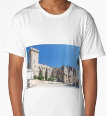 Palace of the Popes in Avignon Long T-Shirt