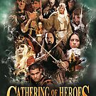 Gathering of Heroes Green Poster by InfernoFilm
