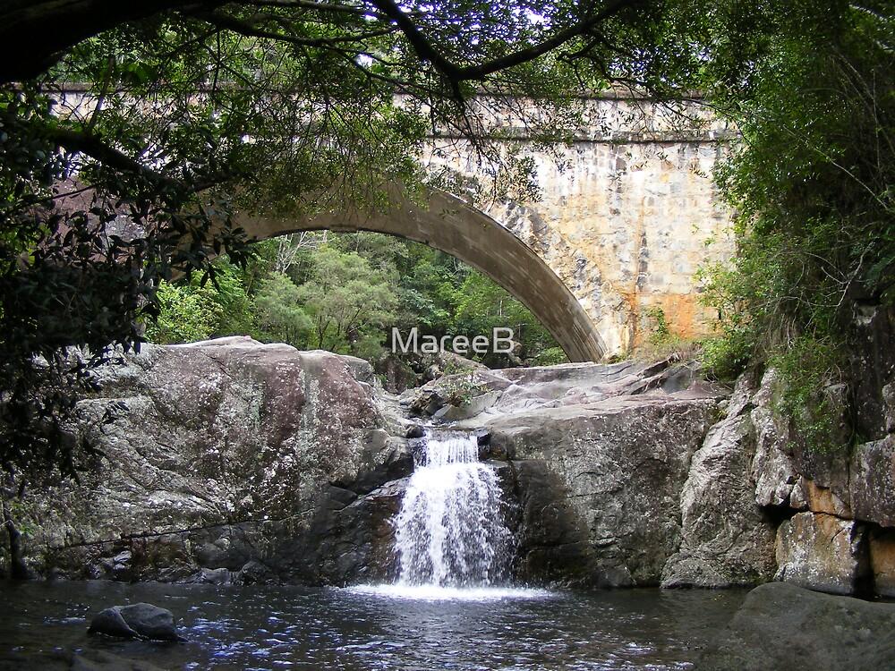 Crystal Creek Waterfall by MareeB