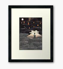 Unmoored Framed Print