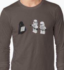 STORMTROOPERS KICK ME STAR WARS   Long Sleeve T-Shirt