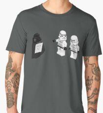 STORMTROOPERS KICK ME STAR WARS   Men's Premium T-Shirt