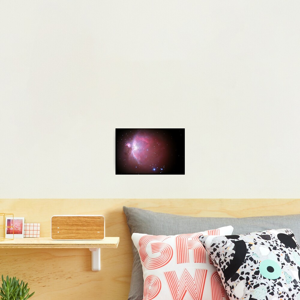 M42 nebula in orion Photographic Print