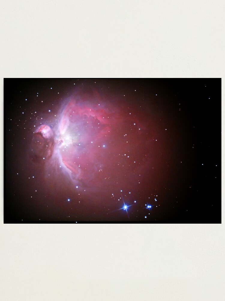 Alternate view of M42 nebula in orion Photographic Print