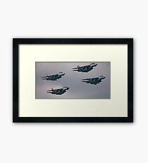 F-14D Tomcatters Last Flight  Framed Print