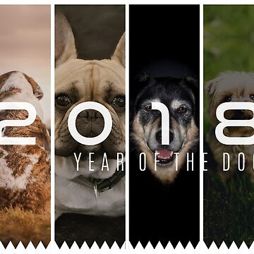 2018 Year of The Dog by maxrouph