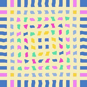 Colorblocks, Light Yellow by BettyMackey