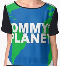 tommy's planet - the room/the disaster artist Chiffon Top