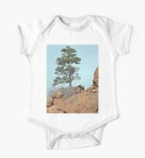 Red Rocks Tree One Piece - Short Sleeve