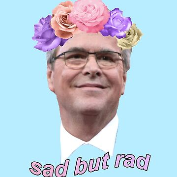 Rad But Sad Jeb Bush by evaunit15