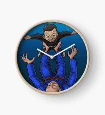 Jiu Jitsu Mum Clock