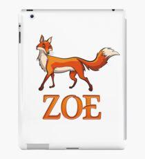 Zoe Fox iPad Case/Skin