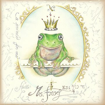 Prince frog by pambrosini