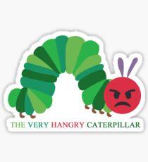HANGRY CATERPILLAR Sticker