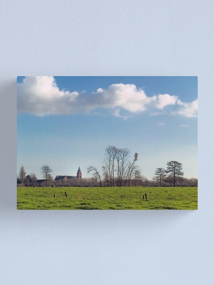 Alternate view of Belzele; Belgium Canvas Print