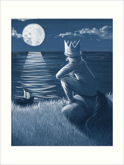 The king of all wild things art prints by str4yk1tt3n for 24 hour shirt printing santa rosa
