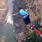 Bungee jump in progress by chico123